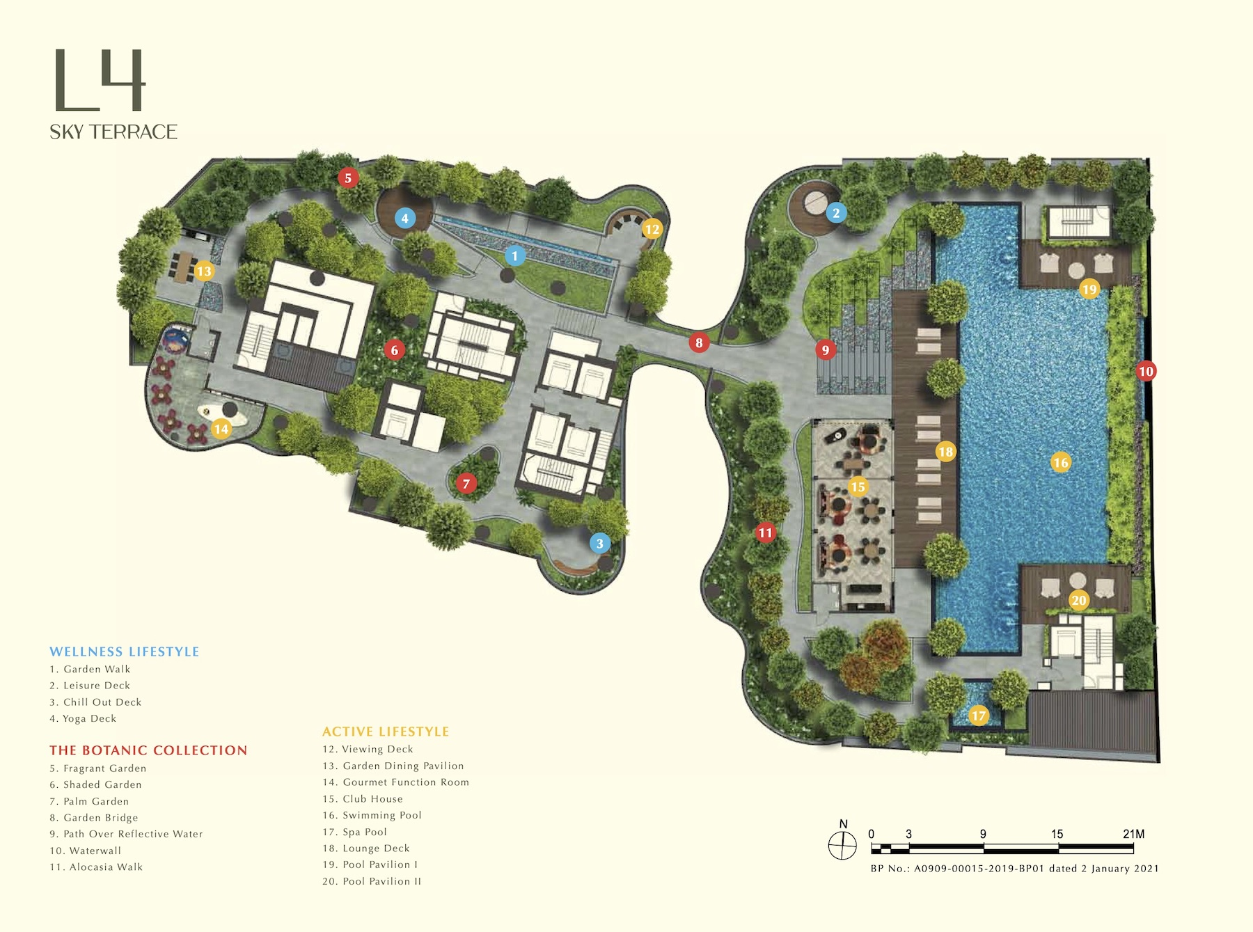 One Bernam Site Plan 2 Singapore